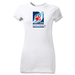 FIFA Interactive World Cup Junior Women's Emblem T-Shirt (White)