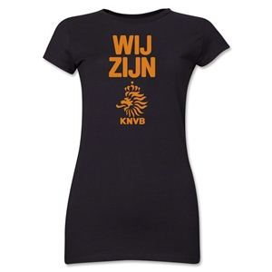 Netherlands We Are Junior Women's T-Shirt (Black)