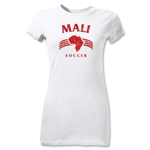 Mali Junior Women's Country T-Shirt (White)