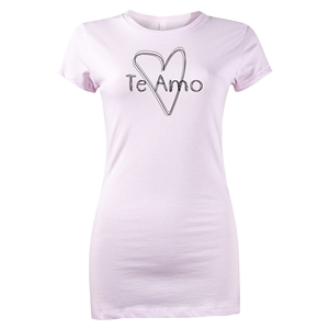 Te Amo Junior Women's T-Shirt (Pink)