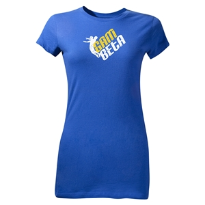 Gam Beta Junior Womens T-Shirt (Royal)