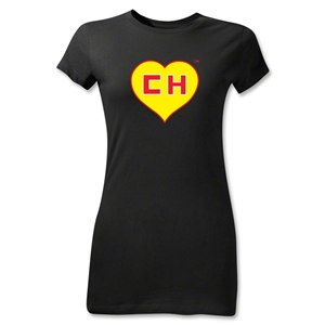 Chapulin Junior Girls T-Shirt (Black)