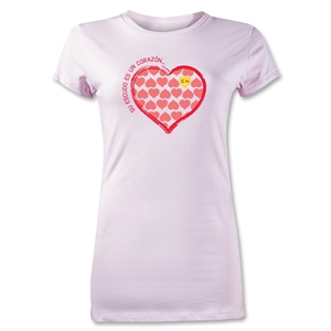 Chapulin Su Escuedo Junior Women's T-Shirt (Pink)