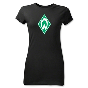 Werder Bremen Junior Women's T-Shirt (Black)