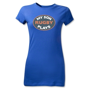 My Son Plays Junior Women's T-Shirt (Royal)