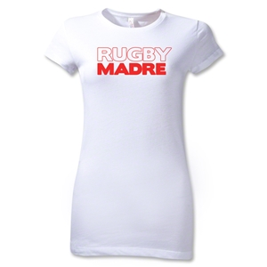 Rugby Madre 2 Junior Women's T-Shirt (White)