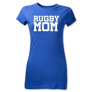 Rugby Mom Junior Women's T-Shirt (Royal)