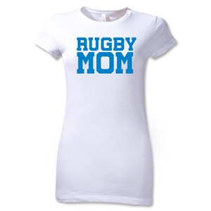 Rugby Mom Junior Women's T-Shirt (White)
