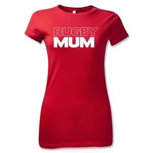 Rugby Mum Junior Women's T-Shirt