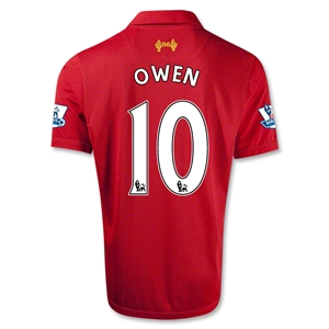 Liverpool 12/13 OWEN Home Soccer Jersey