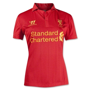 Liverpool 12/13 Women's Home Soccer Jersey