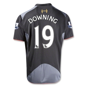 Liverpool 12/13 DOWNING Away Soccer Jersey