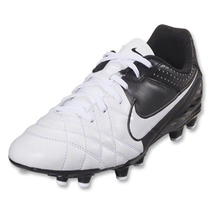 Nike Tiempo Natural FG Junior (White/Black/White)