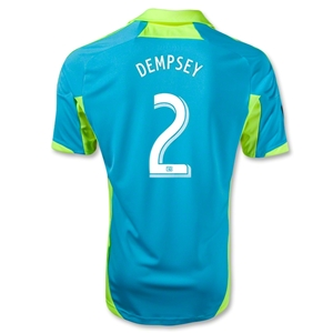 Seattle Sounders FC 2013 DEMPSEY Third Soccer Jersey