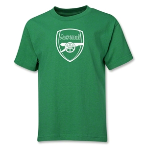 Arsenal Crest Youth T-Shirt (Green)