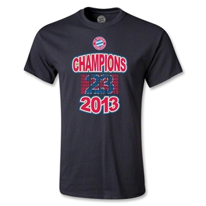 Bayern Munich 2013 Youth Champions T-Shirt (Black)
