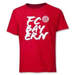 Bayern Munich FC Bayern Youth T-Shirt (Red)
