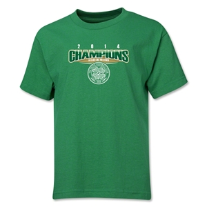 Celtic 2014 Youth Champions T-Shirt (Green)