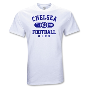 Chelsea Football Youth T-Shirt (White)