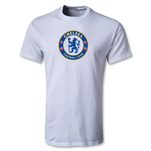 Chelsea Crest Youth T-Shirt (White)