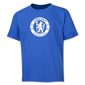 Chelsea Emblem Youth T-Shirt (Royal)