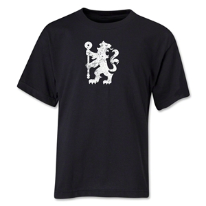 Chelsea Distressed Lion Youth T-Shirt (Black)
