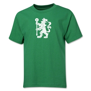 Chelsea Distressed Lion Youth T-Shirt (Green)