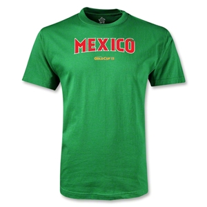 CONCACAF Gold Cup 2013 Youth Mexico T-Shirt (Green)