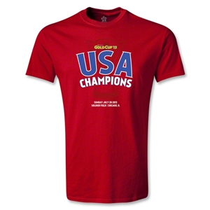 USA CONCACAF Gold Cup 2013 Champions Youth T-Shirt (Red)