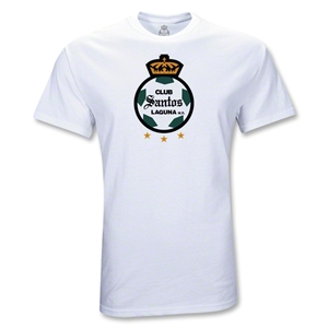 Santos Laguna Graphic Youth T-Shirt (White)