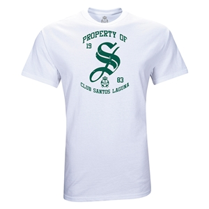 Santos Laguna Property Youth T-Shirt (White)