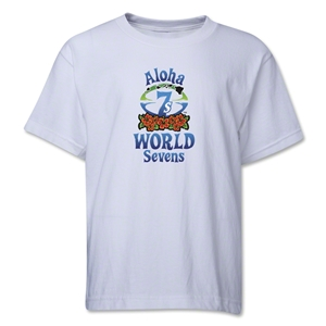 Aloha World Sevens Youth T-Shirt (White)