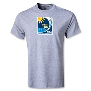 FIFA Beach World Cup 2013 Youth Emblem T-Shirt (Gray)