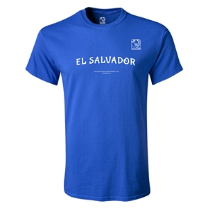 FIFA Beach World Cup 2013 Youth El Salvador T-Shirt (Royal)