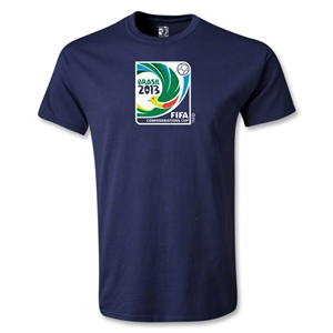 FIFA Confederations Cup 2013 Youth Emblem T-Shirt (Navy)