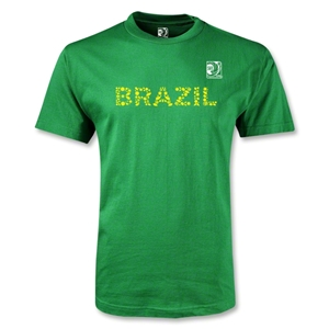 FIFA Confederations Cup 2013 Youth Brazil T-Shirt (Green)