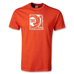 FIFA Confederations Cup 2013 Youth Emblem T-Shirt (Orange)