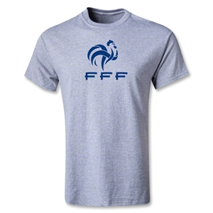 France FFF Youth T-Shirt (Gray)