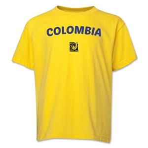 Colombia FIFA U-17 Women's World Cup Costa Rica 2014 Youth Core T-Shirt (Yellow)