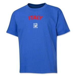 Italy FIFA U-17 Women's World Cup Costa Rica 2014 Youth Core T-Shirt (Royal)