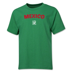 Mexico FIFA U-17 Women's World Cup Costa Rica 2014 Youth Core T-Shirt (Green)