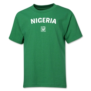 Nigeria FIFA U-17 Women's World Cup Costa Rica 2014 Youth Core T-Shirt (Green)