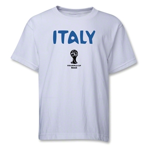 Italy 2014 FIFA World Cup Brazil(TM) Youth Core T-Shirt (White)