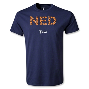 Netherlands 2014 FIFA World Cup Brazil(TM) Youth Elements T-Shirt (Navy)