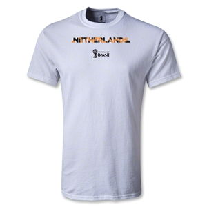 Netherlands 2014 FIFA World Cup Brazil(TM) Youth Palm T-Shirt (White)