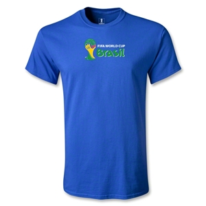 2014 FIFA World Cup Brazil(TM) Youth Landscape Emblem T-Shirt (Royal)
