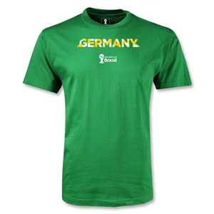 Germany 2014 FIFA World Cup Brazil(TM) Youth Palm T-Shirt (Green)