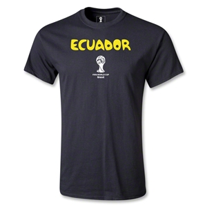 Ecuador 2014 FIFA World Cup Brazil(TM) Youth Core T-Shirt (Black)
