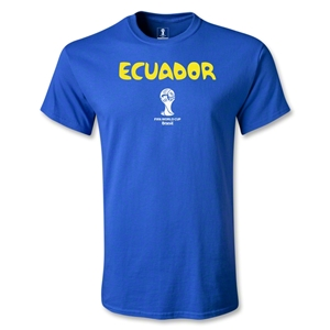 Ecuador 2014 FIFA World Cup Brazil(TM) Youth Core T-Shirt (Royal)