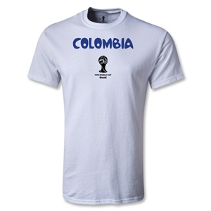 Colombia 2014 FIFA World Cup Brazil(TM) Youth Core T-Shirt (White)